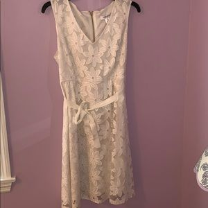 White floral Maternity Dress Size M